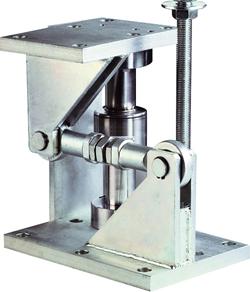 T34 Silo trykvejecelle, 10 1000ton. Høj temperatur. Anvendelse: silo til cement, plast, medicinske stoffer, maling, korn.  IP68 og IP69K.