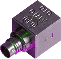 accelerometer IEPE - en akset - -50°C to 125°C Std. (185°C HT version)